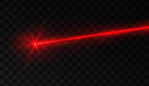 レーザーポインターの照射距離